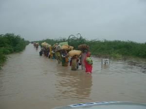 Badin Flood. Courtesy Manzoor Mirani