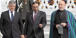 Ankara summit with heads of Turkey, Pakistan and Afghanistan (Credit: afpak.jpg)