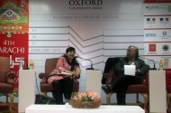 Nafisa Hoodbhoy presents her book at the Karachi Literary Festival