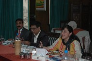 2)The-author-presents-her-book-at-a-luncheon-for-senior-journalists-sponsored-by-PPP-Senator-Dr-Karim-Khwaja