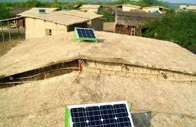Solar panels in Thatta (Credit: facebook.com)