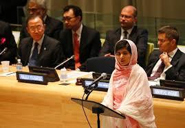 Malala Yusufzai (Credit:thebarreexpress.com)