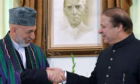Karzai in Pakistan (Credit: dawn.com)