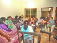 Meeting in Hyderabad (Credit: Sahar Gul Bhatti)