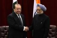 Nawaz Sharif & Manmohan Singh at UN (Credit: yahoo.com)