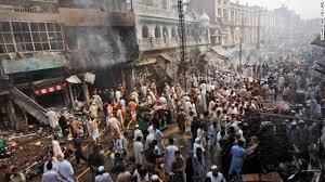 Terrorist attack in Qissa Khwani bazaar (Credit: cnn.com)