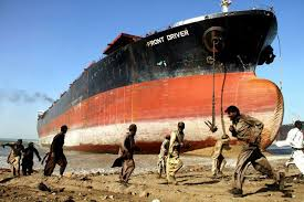 Ship breaking in Pakistan (Credit: customstoday.com.pk)