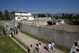Bin Laden home in Abbotabad (Credit: csmonitor.com)