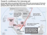 Search for Malaysia airline (Credit: abc.com)