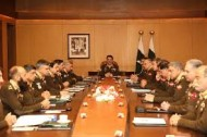 Pak army meeting (Credit: pakistansoldiers.com)