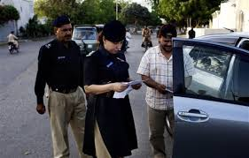 SHO Syeda Ghazala (Credit: thenews.pk.com)