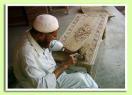 Wood carver in Swat (Credit: valleyswat.net)