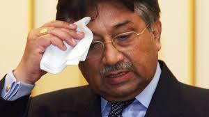 Pervaiz Musharraf on trial (Credit: presstv.ir)