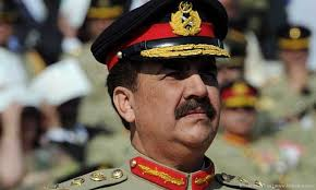 Pak Army chief Raheel Sharif (Credit: Khaama.com)