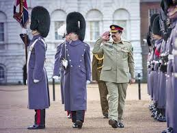 Gen Raheel Sharif in London (Credit: tribune.com.pk)
