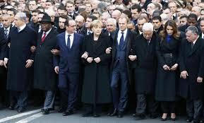 Million march in Paris (Credit: arabnews.com)
