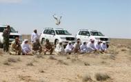 Gulf hunters in Balochistan (Credit: siasat.com)
