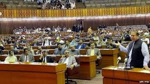 Pak Parliament (Credit: bbc.com)
