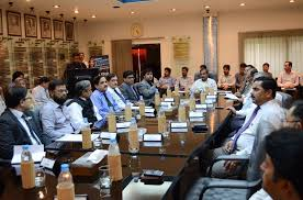 Axact-DHA meeting (Credit: dawn.com)