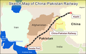 Economic corridor route (Credit: worldtribune.com)