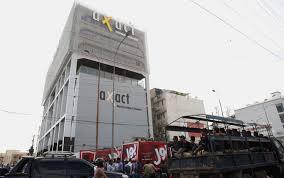 Police Raid on Axact (Credit: Khaleejtimes.com)