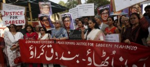 Demonstration against silencing Sabeen Mahmud (Credit: opencanada.org)
