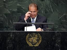 Nawaz Sharif at UN (Credit: tribune.com.pk)