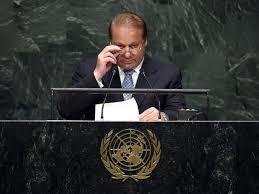 Nawaz Sharif at UN (Credit: tribune.com.pk)