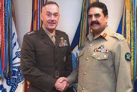 Raheel Sharif in Washington (Credit: dawn.com)