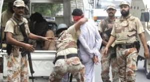 Rangers in Karachi (Credit: jasarat.org)