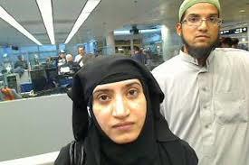 Tashfeen & Rizwan enter US in 2014 (Credit: wsj.com)