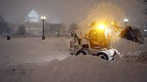 DC under Blizzard (Credit: belfasttelegraph.co.uk)