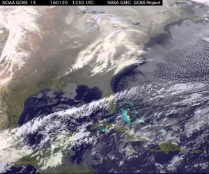 Blizzard from space (Credit: nasa.gov)