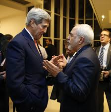 John Kerry & Javad Zarif (Credit: washingpost.com)