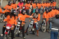 Punjab Women on Motorbikes (Credit: dawn.com)
