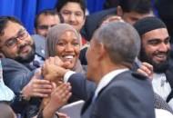 Obama visits Baltimore mosque (Credit: Washingtonpost.com)