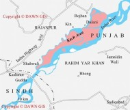 Arms supply route in Punjab (Credit: dawn.com)