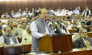 Nawaz Sharif address to parliament (Credit: dawn.com)