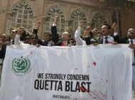 Lawyers protest Quetta blast (Credit usatoday.com)