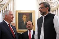 Rex Tillerson, Shahid Khan Abbasi